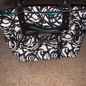 Tyler Rodan Bags - Tyler Rodan Black & White Handbag